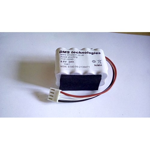 BATTERY NIMH RECHARGEABLE 6.6V 2AH